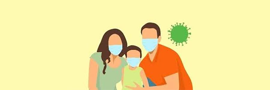 Distribution de masques pour les habitants
