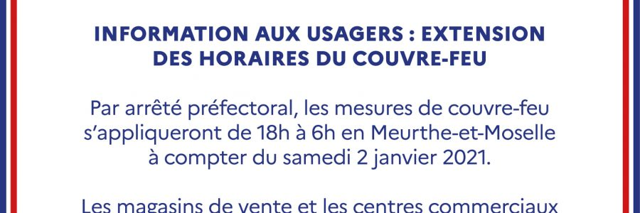 Modifications horaires permanence Mairie